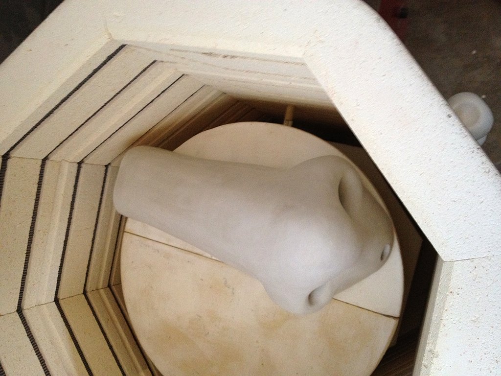 Nose in Kiln